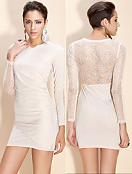 TS Lace Design on Back Bodycon Dress