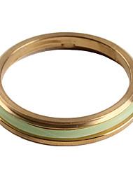 xeno rg03 en acier inoxydable sécurisé bague de diamètre 32mm (ti-or)