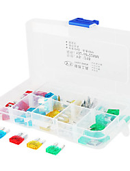 Blade Fuses Set for Car Vehicle (50-Piece/Pack/Size S)