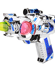en plastique fusil jouet dynamo (couleurs aléatoires)