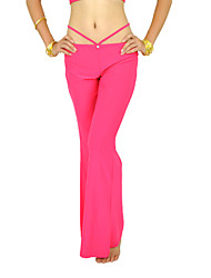 Ballroom Dancewear Crystal Cotton Ladies Pant More Colors