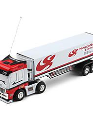 Mini-Transport  Express Truck mit 27MHz Fernsteuerung (Weiß)