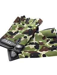 Glove Cycling / Bike Men's Fingerless Gloves Easy-off pull tab / Anti-skidding / Wearable / Wearproof Summer Others Others - Others