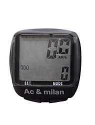 AC & MILAN Cycling Wired Computer(8 Functions and 4 Features)