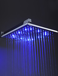 Sprinkle® Shower Faucets LED with Chrome Single Handle One Hole