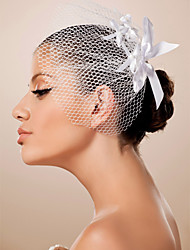 Lovely Ribbon Wedding Bridal Headpiece