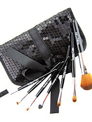 Brand New 7 Pcs Mini Synthetic Fiber Starter Makeup Brush Kit