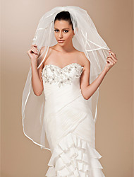 4 Layers Fingertip Length Wedding Veil