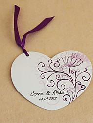Cartes d'invitation Invitations de mariage Carte plate Personnalisé