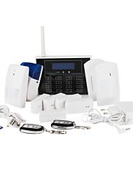 xjlalarm-video digitale gsm intelligente sistema di allarme a casa con 29 zone senza fili e carattere disply lcd