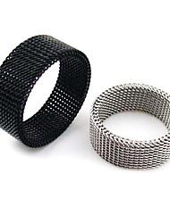 Eruner®Titanium Steel 4mm Slim Netty Transmutable Ring Jewelry