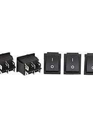 carro de controle de energia elétrica chaves liga / desliga de 6 pinos de balancim (5 peça-pack)