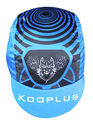 KOOPLUS Bike/Cycling Cap/Beanie Men's Quick Dry 100% Polyester Black / Blue Free Size Cycling/Bike