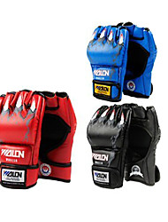 Short Finger Boxing Gloves 10oz (Random Colors) (Average Size)