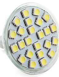 GU5.3 3.5 W 24 SMD 5050 280 LM Natural White MR16 Spot Lights V