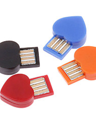 Heart Shaped USB Bluetooth Wireless Adaptor Dongle (Assorted Colors)