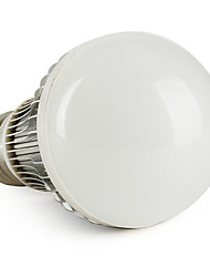 E26/E27 6W 6 550 LM Natural White A60(A19) LED Globe Bulbs V
