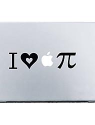 "I Love Apple Pie Mac Decal Skin Sticker Cover for 11"" 13"" 15"" MacBook Air Pro"