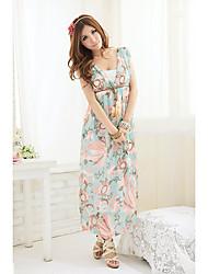 Lady Elegant Holiday Long Beach Dress