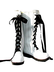Ciel White Laceup Cosplay Shoes
