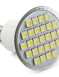 E14 4 W 27 SMD 5050 300 LM Natural White MR16 Spot Lights V