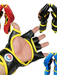 Boxing Gloves Fingerless Gloves Unisex Wearable Boxing Red / Black / Blue