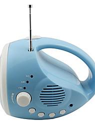 Handkurbel Dynamo LED-Taschenlampe und Radio