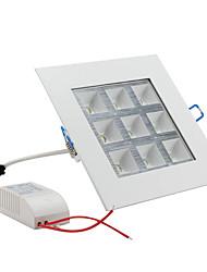 Plafonniers Blanc Naturel 9 W 9 LED Haute Puissance 1000 LM AC 85-265 V