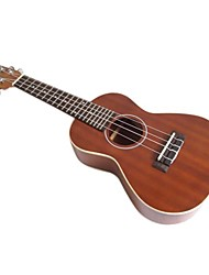 aiersi - (su-024) ukulele mogno concerto com bag / picaretas