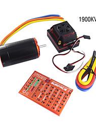 skyrc 1/8 Торо x150 комбинированный набор (ESC 150a +1900 кв двигателя + программирование карт)