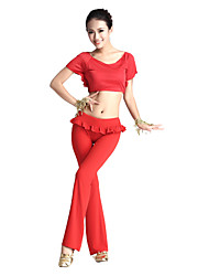 Dancewear Cystal Cotton/Viscose Belly Dance Outfit For Ladies More Colors