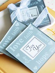 Good Wishes Photo Coasters (Set Of 2)