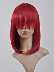 Cosplay Wigs Kingdom Hearts Kairi Red Medium Anime/ Video Games Cosplay Wigs 45 CM Heat Resistant Fiber Female