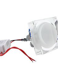 7W 7 High Power LED 600 LM Warm White LED Ceiling Lights AC 85-265 V