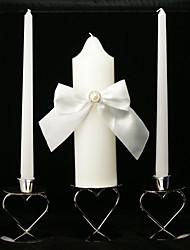 bougies classiques unité de mariage avec l'arc ouvrant (ne pas inclure bougeoir)