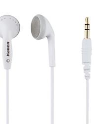Kanen estéreo superiores graves precisos agudos fones de ouvido (branco)
