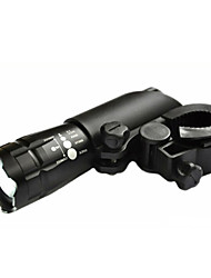 LED Flashlights/Torch Bike Lights Front Bike Light LED Cree Q5 Cycling AAA Lumens Battery Cycling/Bike