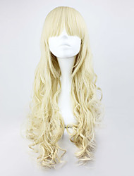 Lolita Wigs Sweet Lolita Lolita Long / Curly Golden Lolita Wig 70 CM Cosplay Wigs Solid Wig For Women