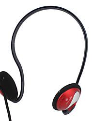 Kanen qualidade de som estéreo neckband design dos auscultadores com microfone e controle de volume (vermelho)