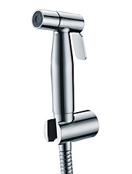 Contemporary Stainless Steel Chrome Finish Bidet Faucet Without Supply Hose And Shower Holder