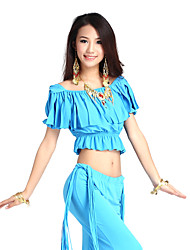 Gorgeous Dancewear Cystal Cotton Belly Dance Top For Ladies More Colors