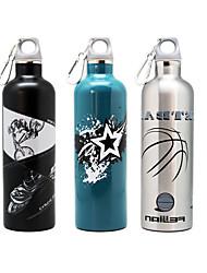 600ML Sports Vacuum Bottle/Vacuum Flask (Black/Blue/Silvery)