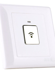 2-Wire System Wall Mount Sound and Motion Activated LED Light Switch (180-240V)