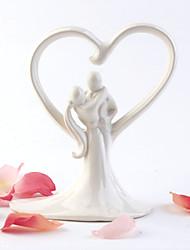 Cake Topper Non-personalized Classic Couple Ceramic Classic Theme OPP