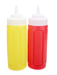molho e suco de garrafa