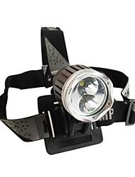 Doppio Emettitore 3-mode Cree T6 e R5 LED fari (1200LM, 4x18650)