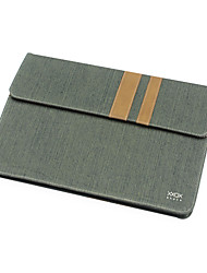 "Sleeve for MacBook Air 13.3"" Business Solid Color Textile Material Cotton Denim Pouch"