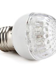 E27 1W 20-LED 6000-6500K White Light Ball Bulb (170-250V)