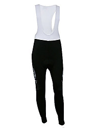 Kooplus Quick Dry Herren Lange Cycling BIB Pants (Red Fliegen Wolf)