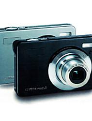 DC-1530 Black / Silver Digitalkamera mit HD720P HD Video Recording
